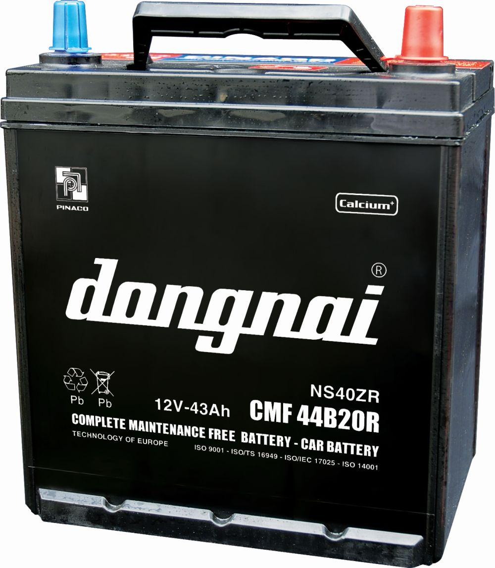 Ắc quy ô tô Đồng Nai CMF DIN60 (12V-60Ah)